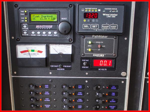Circuit And Distribution Panels Common Ground Marine